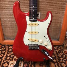 Vintage 1987 1988 Fender Stratocaster G Serial Red MIJ Japan Electric Guitar 8.2