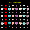 4M Heart Paper Garland Bunting Banner Party Wedding Baby Shower Decorations*