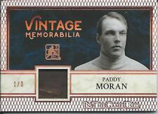 2017 Leaf ITG In The Game Used  PADDY MORAN Vintage Memorabilia 1/3 #VM1-28