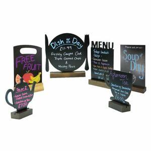 chalkboard table top cafe pub bar deli bar restaurant menu black board