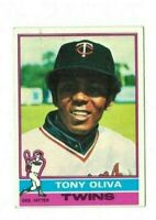 1976 Topps Baseball - Tony Oliva #35 - Set Break!