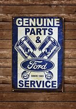 Ford Original Teile & Service Metallschild Garage Autos Mechaniker Werkstatt,879