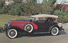 Carte postale postcard 9x14cm AUTOMOBILE VOITURE CAR DUESENBERG MODEL J 1930