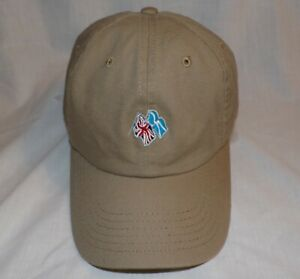 FREDERICA GOLF CLUB Adjustable Khaki Strapback HAT CAP by IMPERIAL