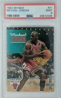 1992 92 Skybox Michael Jordan #31, Chicago Bulls, HOF, Graded PSA 9 Mint