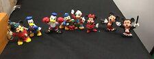 lot 8 70's-80's Walt Disney Donald Duck Scrooge McDuck Mickey Mouse PVC  figures
