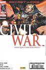 Secret Wars - Civil War N°1 (couverture 1 sur 2) - Panini-Marvel Comics - Neuf
