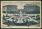 Bologna Città Piazza Umberto I PIEGHINE FG cartolina VK2587