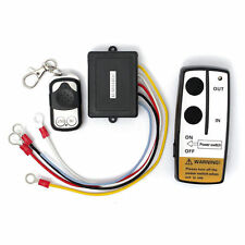 12V 50 WIRELESS MANOVELLA telecomando set kit con chiave per camion ATV SUV