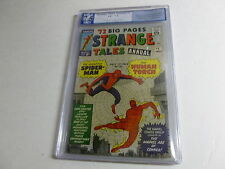 STRANGE TALES annual # 2  PGX  7.5  early spider-man