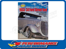 HP BOOK HOW TO BUILD A 1933-1934 FORD STREET ROD #HP1479