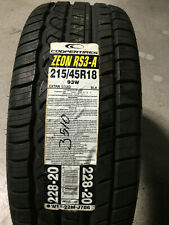 1 New 215 45 18 Cooper Zeon RS3-A Tire