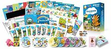 German for Kids Premium set, German learning DVDs, Books, Posters, Flashcards