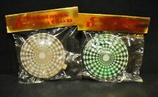 2 Vintage hanging Christmas Tree Ornaments made in Japan - 1970's