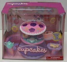 Radica Cupcakes Dolls Tea Party Cake Playset NEW Changes Tea pot Music sounds