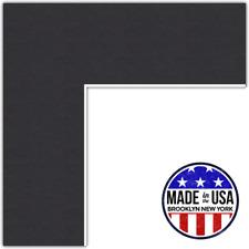 ArtToFrames Custom Black Picture Photo Frame Mat Matting Board Lg