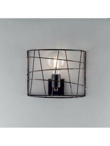 Wall Lamp Applique Modern Industrial Vintage Black And Copper 1 Light bon-252