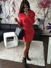 Vestiti da donna maglioni rossi fantasia nessuna fantasia