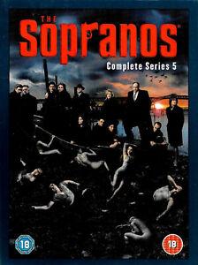 The Sopranos - Season 5 -UK PAL Tv Series DVD -Excellent