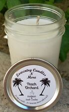 Peach Orchard Soy Lotion Candle, Massage Candle, Vegan Friendly, FREE SHIPPING