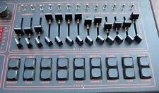 (13) Brand New/NOS Slider Caps For Linn LM-1 Drum Computer - Full Set - MINT!
