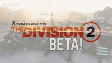 The Division 2 BETA-(XBOX, PS4, PC) KEY/CODE INSTANT DELIVERY!