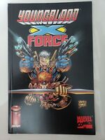 YOUNGBLOOD / X-FORCE GRAPHIC NOVEL SPECIAL 1996 CABLE! ROB LIEFELD COVER ART NM