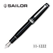 Sailor Professional Gear Slim BK Fine (F) nib Silver SAPPORO 14k fountain pen