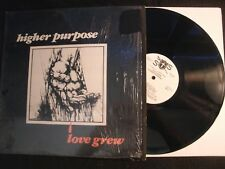 Higher Purpose - Love Grew - 1981 Private Vinyl 12'' Lp./ Christian Folk Rock