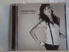 Lovestrong by Christina Perri (2011 Atlantic) debut studio album