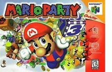 Mario Party Nintendo 64 Authentic Game Cart Family OEM Tested SUPER FAST SHIP