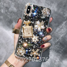 NEW Handmade Crystals Bling Diamonds Soft back Clear Phone Cases Covers For HTC