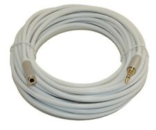 """20 Ft DC Pro Premium 3.5mm (1/8"""") Stereo 4-Pole TRRS Male to Female Cord Cable."""