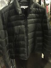 Kenneth Cole New York Men's Front-Zip Down-Fill Puffer Jacket Size XXL - Black ^