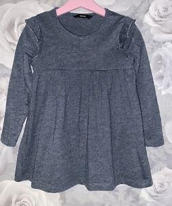 Girls Age 4-5 Years - Long Sleeved Dress