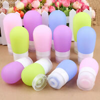 38/60/80ml Silicone Empty Travel Bottle Cosmetics Shampoo Bottle Mini Container