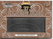 2019-20 Leaf Lumber Kings Hockey PATRICE BERGERON 4/20 Game Used Stick #GUL-32