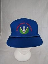 Vtg RCN Canadian Navy Military Arabian Persian Gulf Operation Friction Hat
