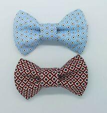 VIOLA - 2pcs Dog collar Cat collar Bow Tie for Dogs Dog Bows * Handmade