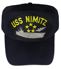 e8982c5d21ad3 USS NIMITZ CVN-68 HAT CAP USN NAVY SHIP SUPER CARRIER OLD SALT LEAD CLASS