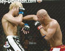 Thiago Alves Signed UFC 8x10 Photo PSA/DNA COA Picture Autograph 138 117 100 85