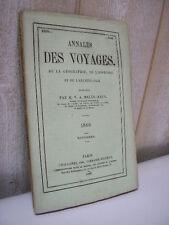 MALTE-BRUN Nouvelles annales des voyages  novembre1866 Ségou Djeddah Allemagne