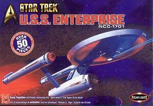 2003 discounted POLAR LIGHTS 4200 1/1000 Star Trek USS Enterprise NCC 170 3 in 1