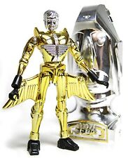NEW Takara Microman Micronauts 25 Anniversary Metallic Gold and Silver MIB Rare