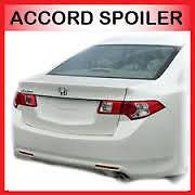 HONDA ACCORD 8th 2008-2012 Sedan BOOT LIP SPOILER