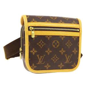 LOUIS VUITTON BOSPHORE BUM BAG PURSE WAIST POUCH MONOGRAM M40108 SP0056 A52326