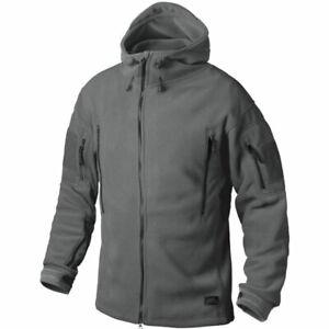 Helikon Tex Patriot Heavy Fleece Jacket Shadow Grey Outdoor Jacke