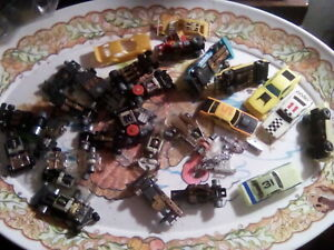 Lot of slotless slotcars bodies and chassis