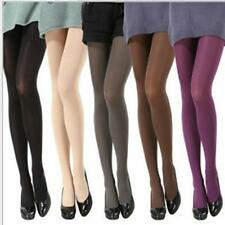 HOT Hosiery Sexy Solid Colors Tights Pantyhose Velvet Women's Semi Opaque