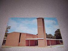 1960s FIRST METHODIST CHURCH STILWELL OKLAHOMA OK. VTG POSTCARD